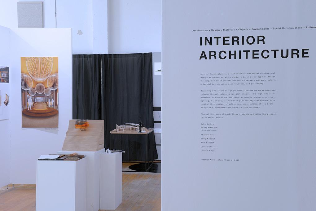 Cornish Interior Architecture BFA Exhibition