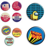 student work vote buttons