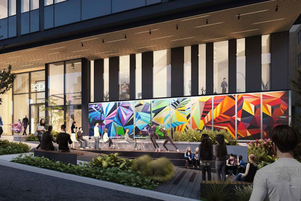 ext rendering the ivy art wall