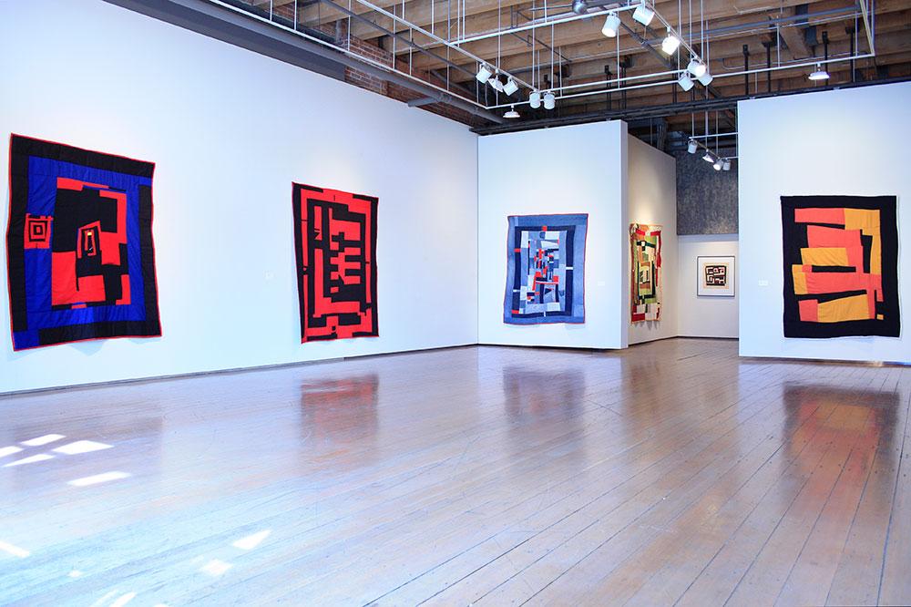A gallery exhibit.