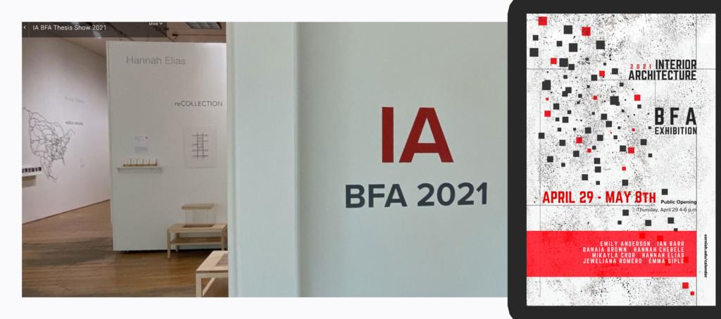 interior architecture 2021 bfa exhibition