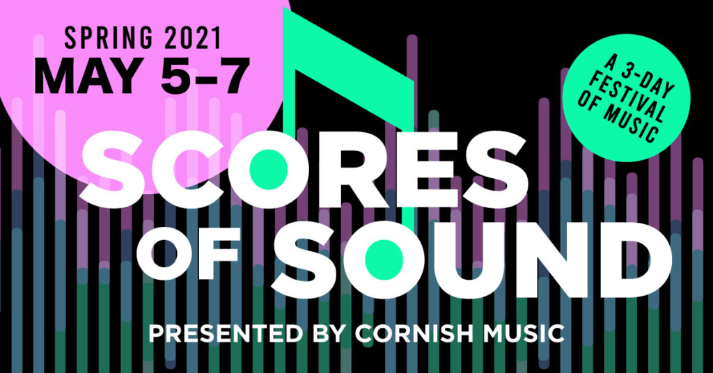 """An event header for """"Scores of Sound."""""""
