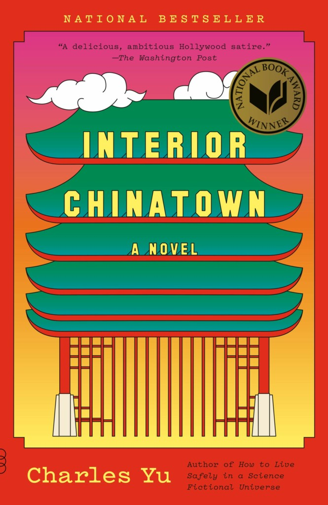 """A book cover for """"Interior Chinatown."""""""