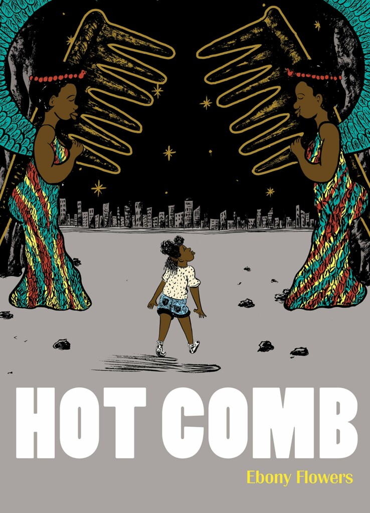 """A graphic novel for """"Hot Cover."""""""