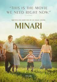 """A film cover for """"Minari."""""""