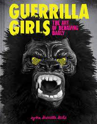 "An ebook cover for ""Guerrila Girls."""