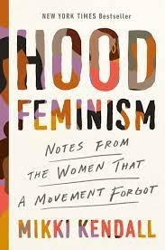 """A book cover for """"Hood Feminism."""""""